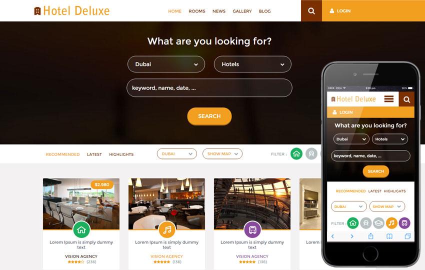 Thiết kế website khách sạn tối ưu với các thiết bị di động