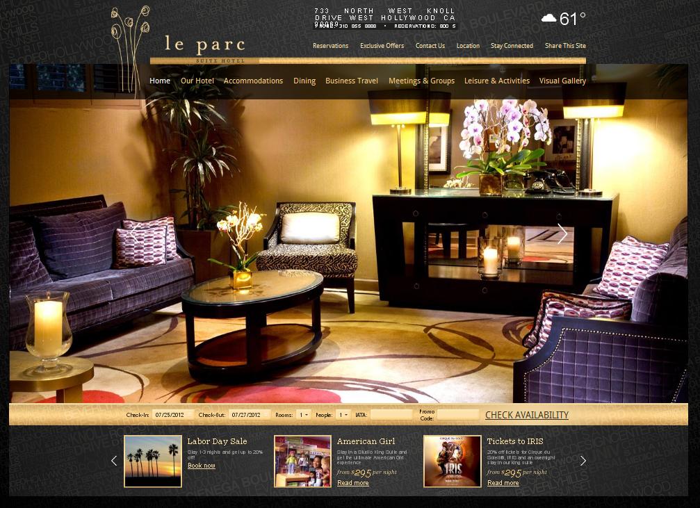 Hình ảnh là chìa khóa mang lại thành công cho một website khách sạn
