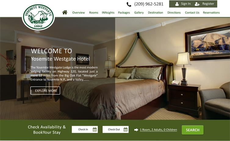 Website khách sạn