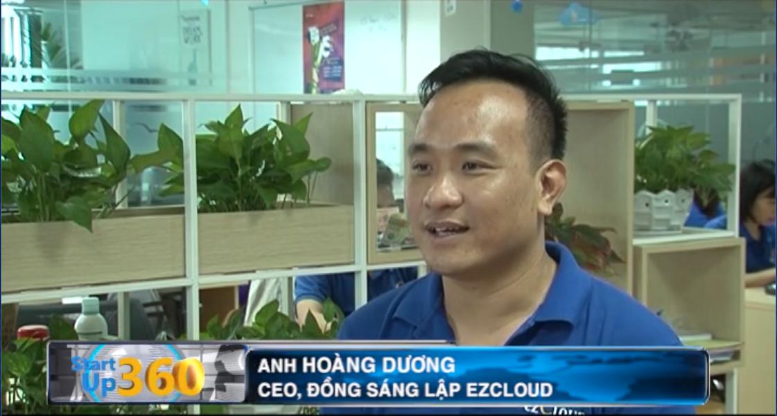 Anh Hoàng Dương – CEO, đồng sáng lập ezCloud