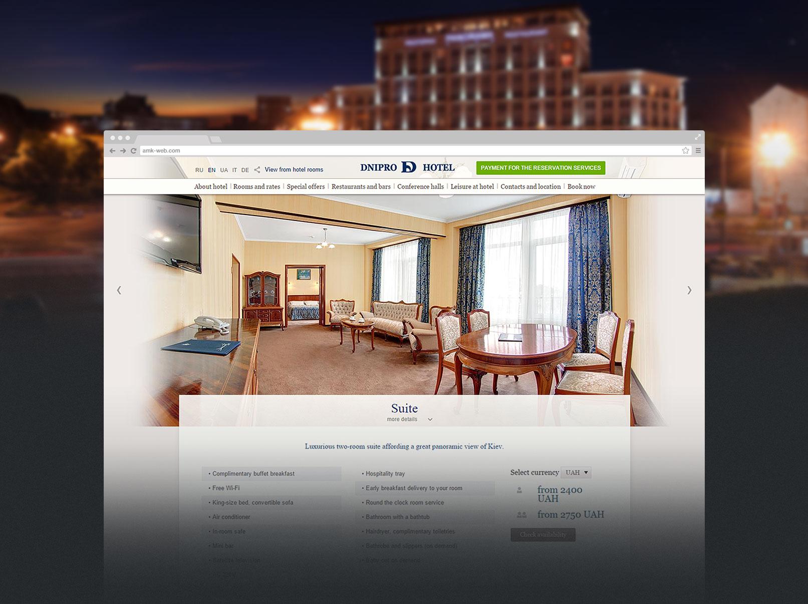 Nguyên tắc thiết kế website khách sạn