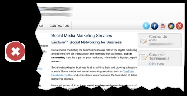 Cách chèn nút mạng xã hội khi thiết kế website khách sạn